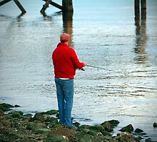 Fishing By The River by Cynthia48