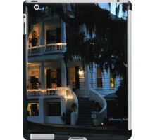 Evening at Rhett House Inn iPad Case/Skin