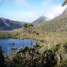 Lake Lilla and the iconic Cradle Mt, Tasmania, Australia by gaylene