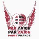Heart Wings Paris Par Avion Series by Zehda