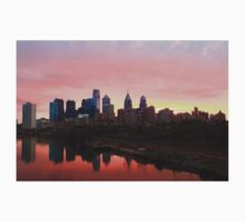 Beautiful Philly Skyline Kids Clothes