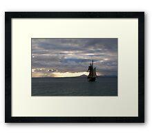 Seven Seas Framed Print