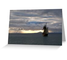 Seven Seas Greeting Card