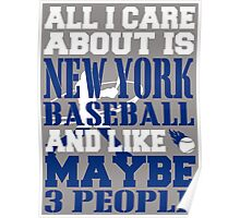 ALL I CARE ABOUT IS NEWYORK BASEBALL Poster