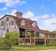 Old Interesting Barn by Kenneth Keifer