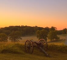 Artillery Sunrise by Mike Griffiths