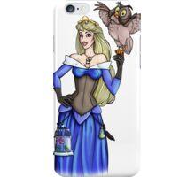 Steampunk Aurora - Sleeping Beauty - Blue iPhone Case/Skin