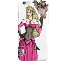 Steampunk Aurora - Sleeping Beauty - Pink  iPhone Case/Skin