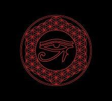 Eye of Horus Creator Black by John Girvan