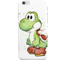 Yoshi Watercolor iPhone Case/Skin