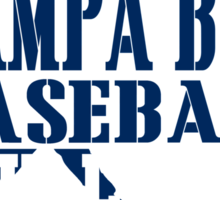 ALL I CARE ABOUT IS TAMPA BAY BASEBALL Sticker