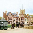 Moseley Village 1897 by nixa