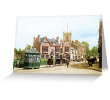 Moseley Village 1897 Greeting Card