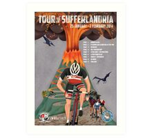 Tour of Sufferlandria 2014 Art Print