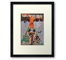 Tour of Sufferlandria 2014 Framed Print