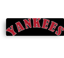 Boston Yankees Funny Geek Nerd Canvas Print