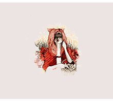 Little Red Riding Hood or wolf ? Photographic Print