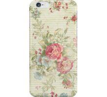 Retro roses iPhone Case/Skin