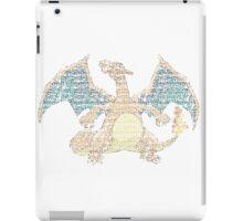 Charizard Typography iPad Case/Skin