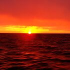 Sailing with the sunset... by Paige