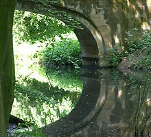 Serpentine Bridge Hardwick Hall 08/06/08 by Barry Norton