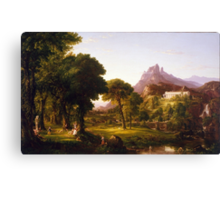 Thomas Cole – Denver Art Museum 1954.71. Dream of Arcadia (c. 1838) Canvas Print