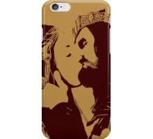 Aragorn and Arwen Kiss iPhone Case/Skin