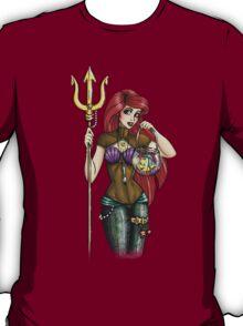 Steampunk Ariel - The Little Mermaid T-Shirt