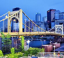 Pittsburgh At Night  by Lyndsay81