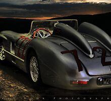 Mercedes Benz 300 SLR Mille Miglia by Paul Cook