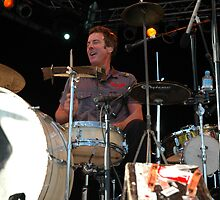 Rob Hirst - Drummer, @ Jazz & Blues Festival by muz2142