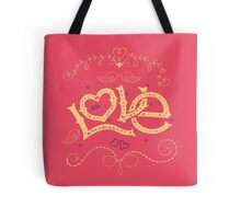 Love Hand-Lettering Tote Bag