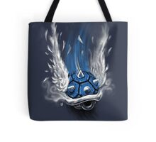 Blue Shell Attack Tote Bag