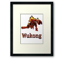 Wukong Framed Print