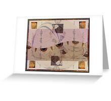 """""""Day Mapping Digital Artifacts"""" © 2008 Brad Michael Moore Greeting Card"""