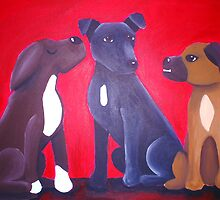 The Three Muttkateers by Katie Weychardt