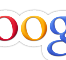 Google Simplistic Sticker