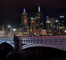 Princes Bridge and St Paul's by FuriousEnnui