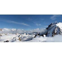 Mont Blanc Glacier Photographic Print