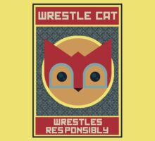 Wrestle Cat wrestles responsibly by Ive Sorocuk