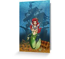 Siren's Shipwreck Greeting Card