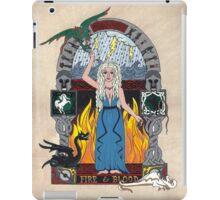 Daenerys Stormborn Targaryen, the Khaleesi illumination iPad Case/Skin