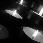 Black And White Candles by Bouzz