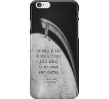 Sherlock Holmes Obvious Things iPhone Case/Skin