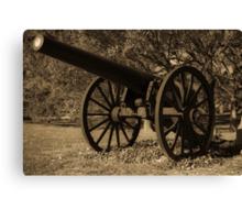 Civil War Iron Canvas Print