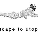 escape to utopia by Cathie Brooker