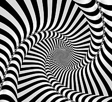 Black and White Spiral by pureguitarfury