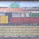 Train Station by Joan Wild
