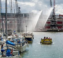 Bristol Harbourside by Carolyn Eaton