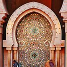 Fountain, Hassam II Mosque Casablanca by Peter Hammer